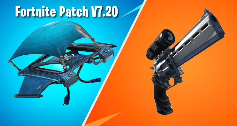 Fortnite Scoped Revolver and Glider Redeploy Item
