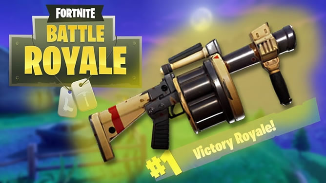 Fortnite Grenade Launcher