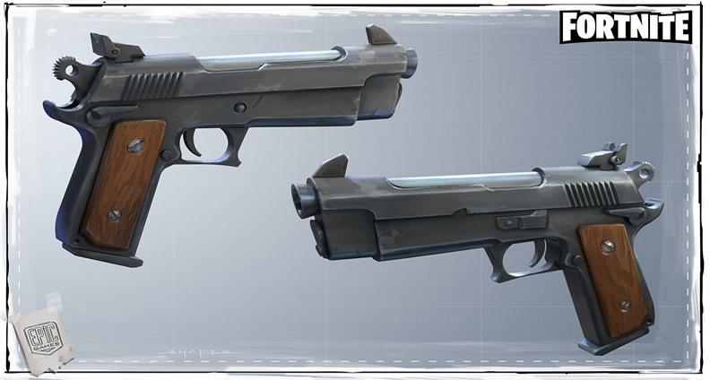 Fortnite Pistols