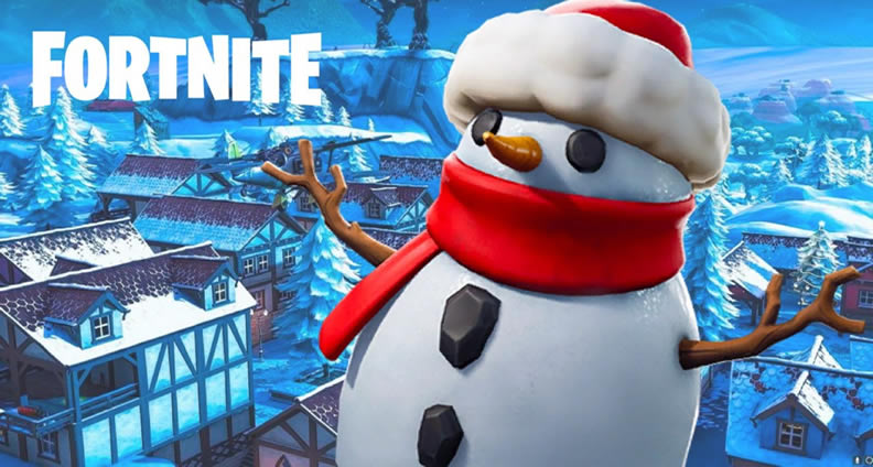 Fortnite Sneaky Snowman item