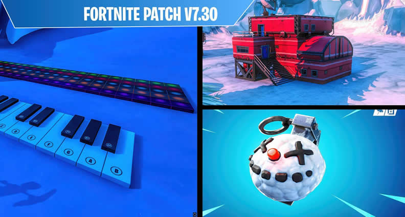 Fortnite V7.30 Patch