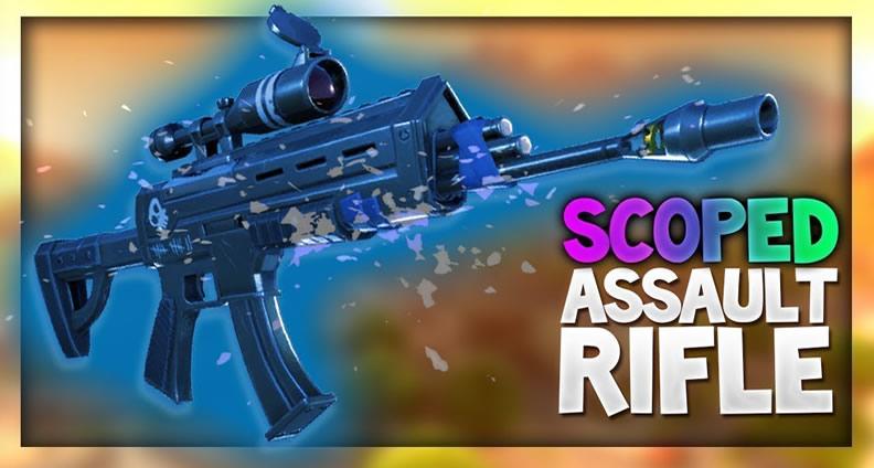 Fortnite scoped AR