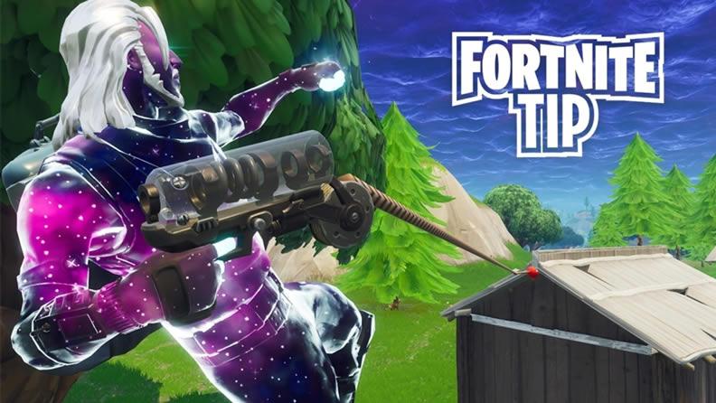 Fortnites Grappler Trick