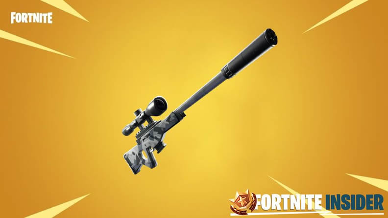 Suppressed Sniper Rifle in Fortnite