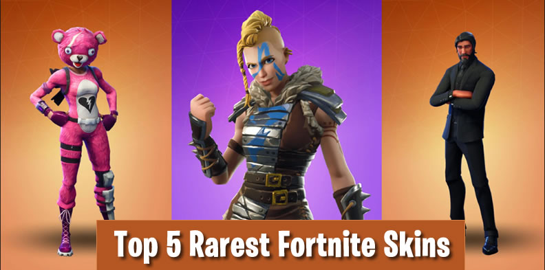 Check out the Top 5 Rarest Skins in Fortnite - KUYOULCC
