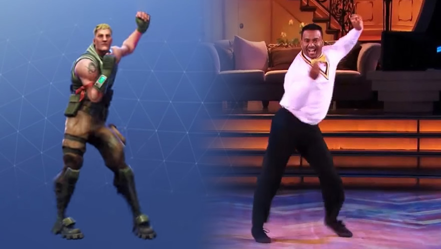 carlton dance fortnite