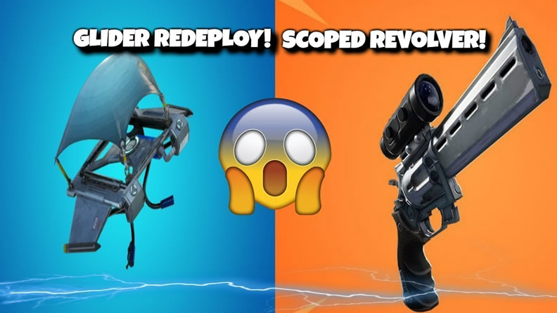 fortnite scoped revolver and glider redeploy