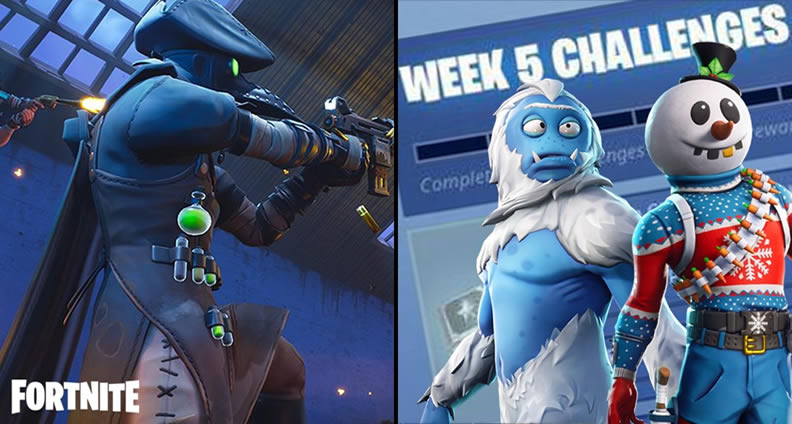 Fortnite Season 7 Week 5 Challenges Guide