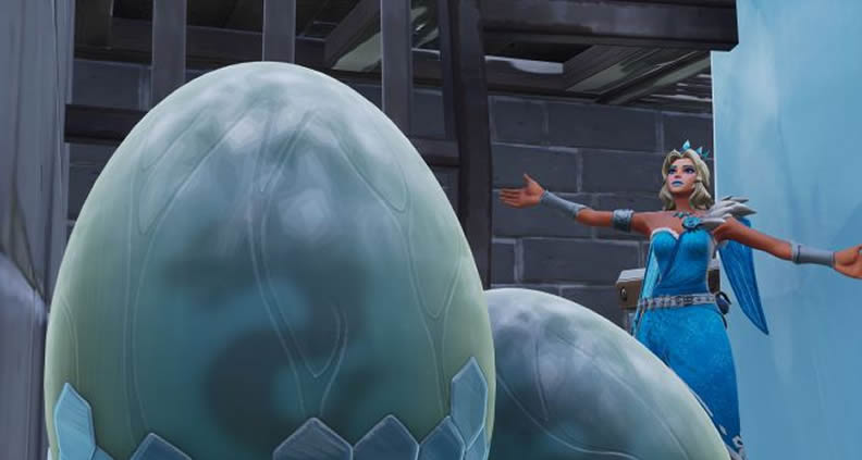 fortnite weird dragon eggs