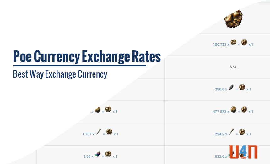 Poe Currency Exchange Rates Best Way