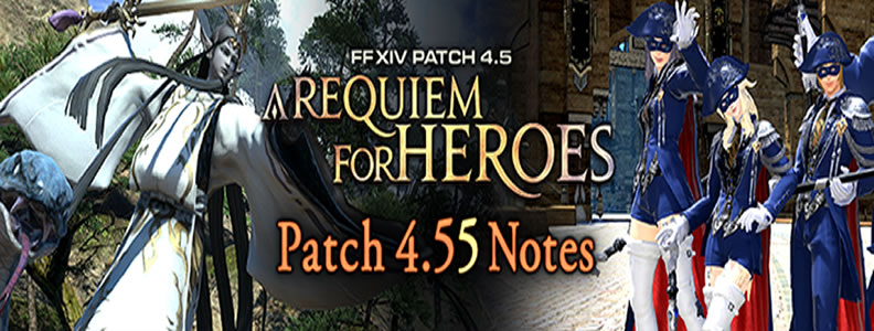 FFXIV 4.55 Patch Content