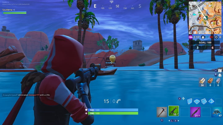 FORTNITE GOLDEN BALLOONS LOCATION: DESERT