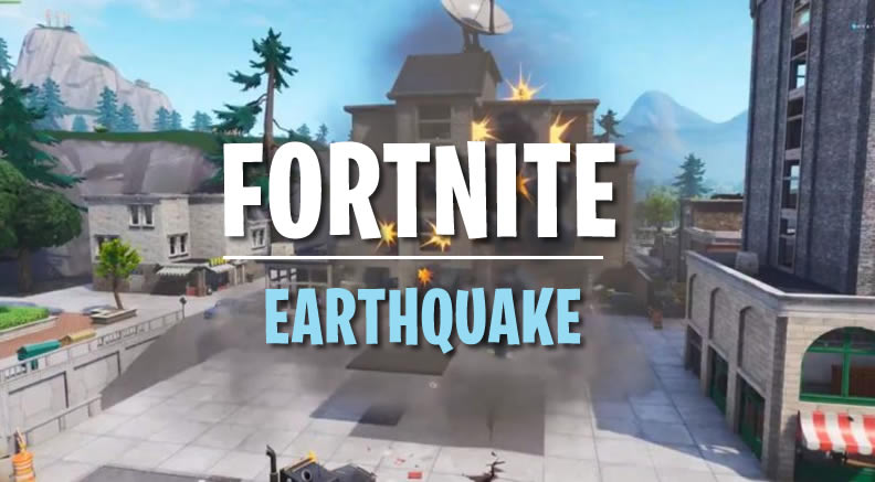 Fortnite Earthquake Demolished Tilted Tower