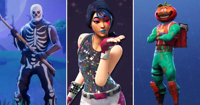Fortnite List Of The Top 5 Rarest Skins Gliders