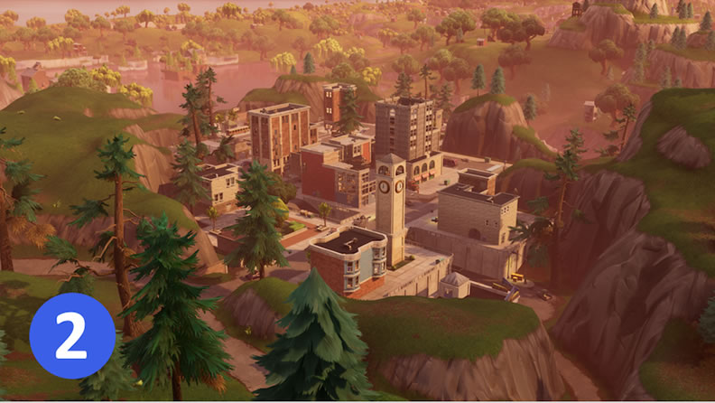 Titled Towers Fortnite