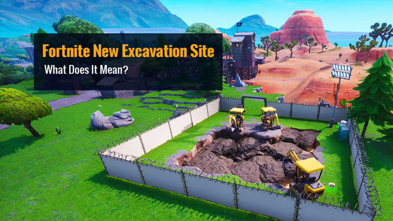Fortnite New Excavation Site