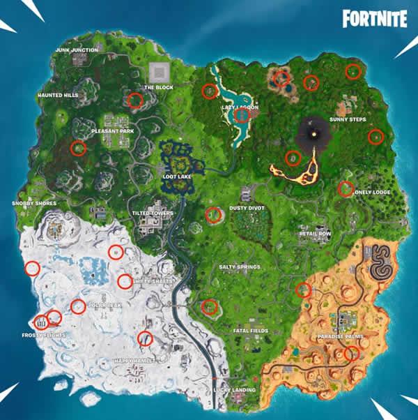 Fortnite The Baller Locations