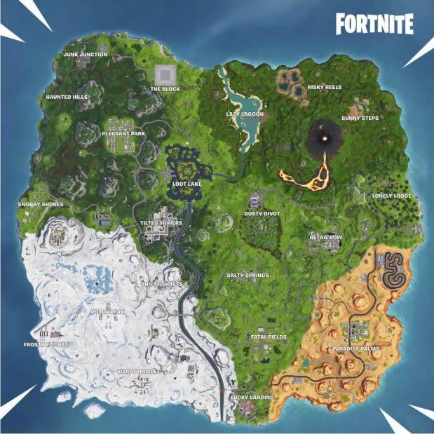 fortnite reasure map signpost