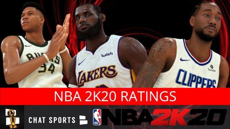NBA 2K20 Ratings