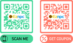 EzNpc Poe currency QR CODE AND Coupons