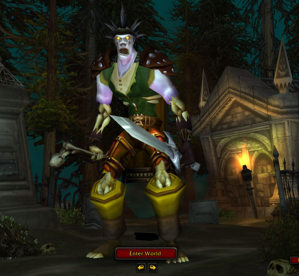 The Undead In WoW Classic Game