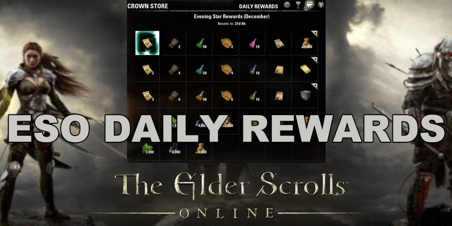 Elder Scrolls Online Daily Rewards