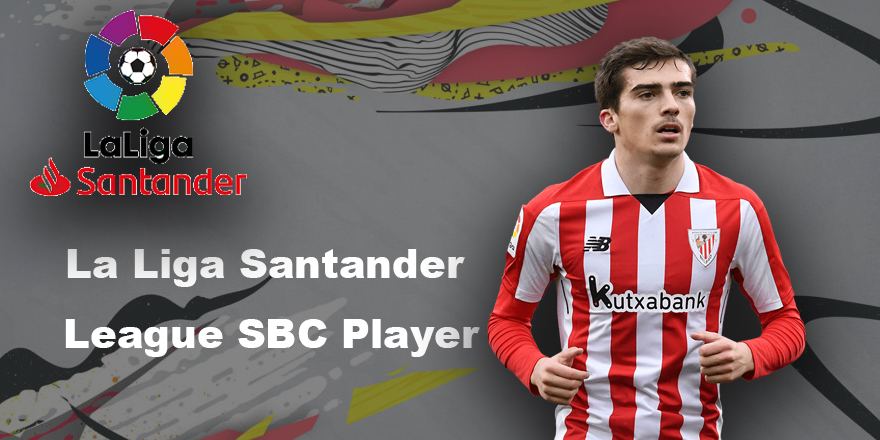 La Liga Santander League SBC Inigo Cordoba Player
