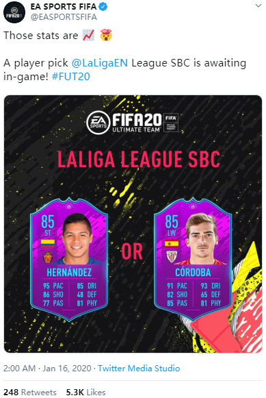 Method To Get The La Liga Santander League SBC