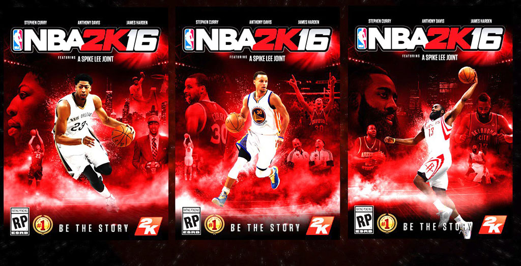 NBA 2K16 - Stephen Curry, Pelicans, James Harden