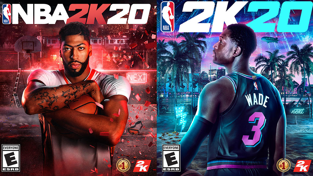 NBA 2K20 - Anthony Davis, Dwyane Wade