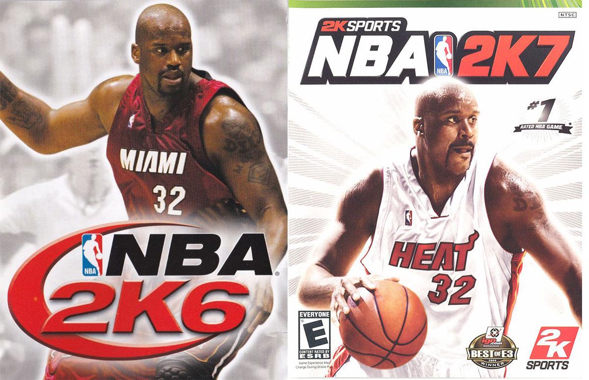 NBA 2K6, NBA 2K7 - Shaquille ONeal