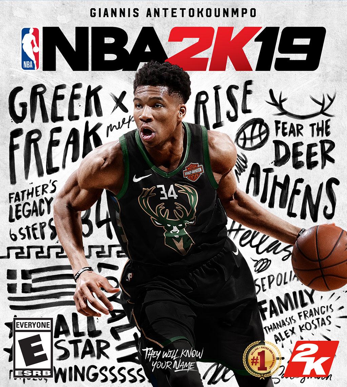 NBA 2K19 - Giannis Antetokounmpo