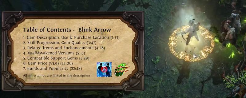 Path of Exile: Blink Arrow