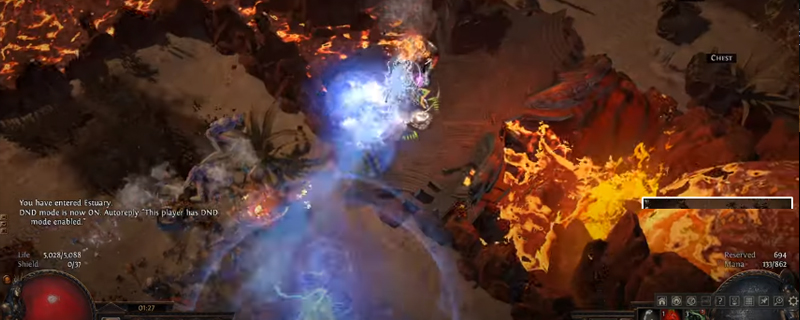 Path of Exile: Charged Dash