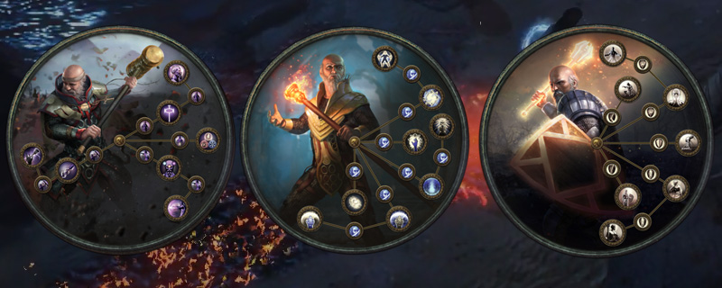 Path of Exile: Inquisitor, Hierophant, Guardian