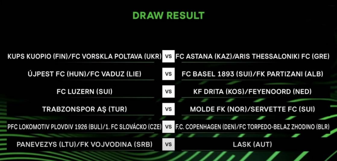 Draw Result
