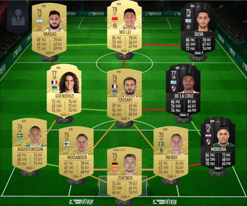 FIFA 21 Squad Builder