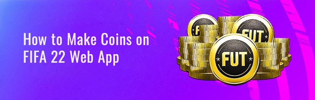 make coins on fifa22 web app