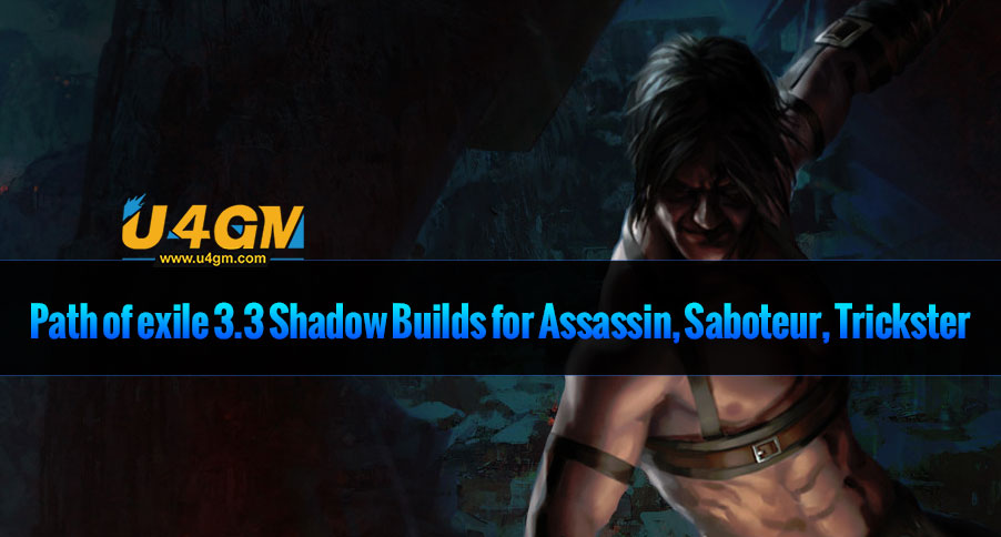 Path of exile 3.3 Shadow Builds for Assassin, Saboteur, Trickster