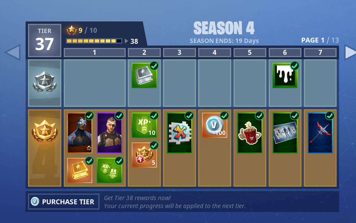 Fortnite account PVP level 16 + 850VB