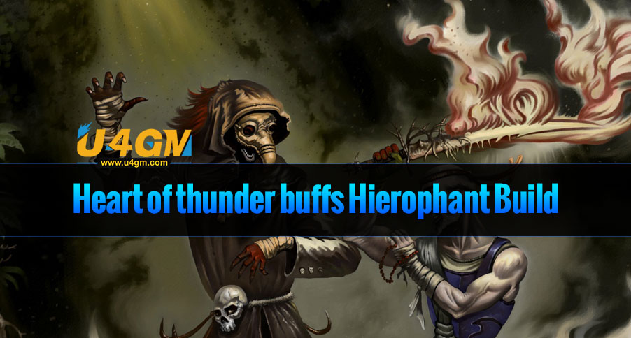 [PoE 3.3 Templar Build] cheap unique items and Heart of thunder buffs Hierophant Build
