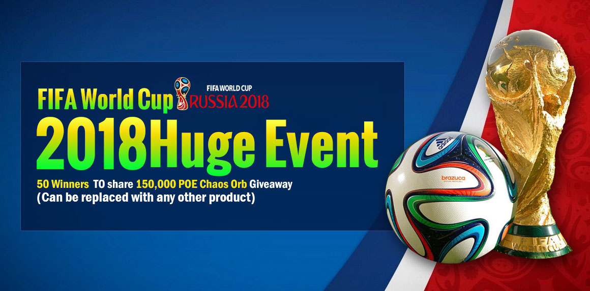 FIFA World Cup 2018 Huge Event
