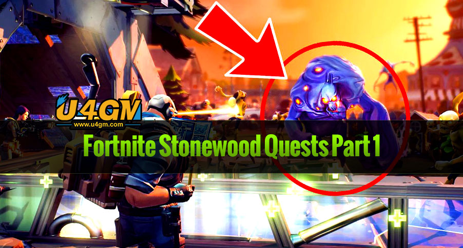 Fortnite Stonewood Quests Part 1