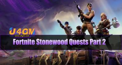 fortnite stonewood quests part 2 - medbot fortnite mission