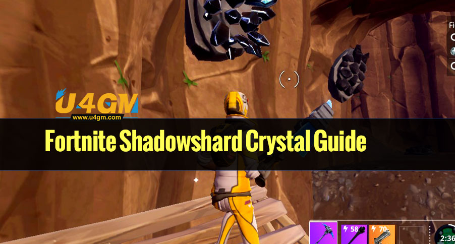 Fortnite Shadowshard Crystal Guide