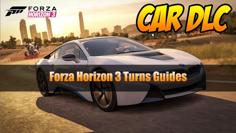 Forza Horizon 3 Turns Guides
