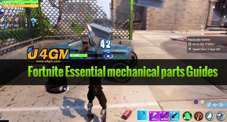 Fortnite Mechanical Parts Guide