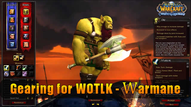 Gearing for WOTLK - Warmane