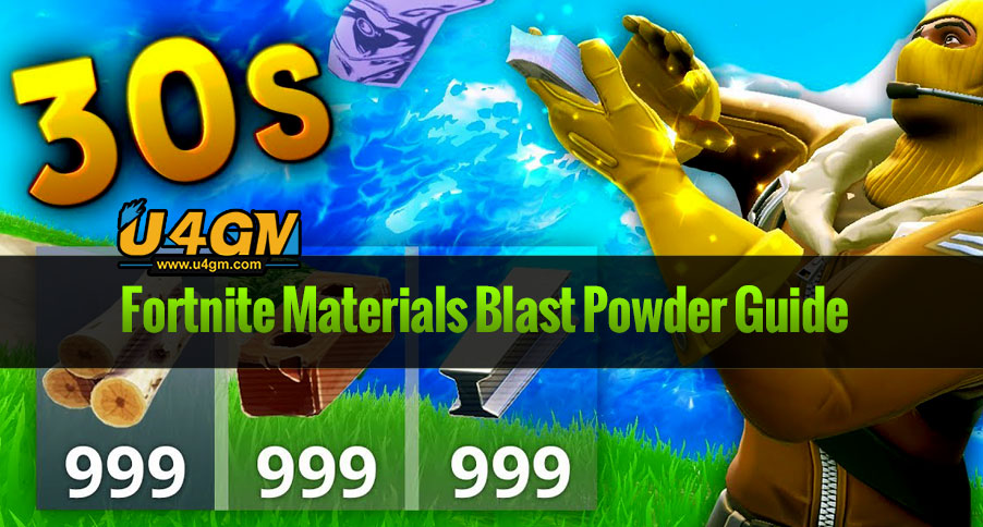 Fortnite Materials Blast Powder Guide