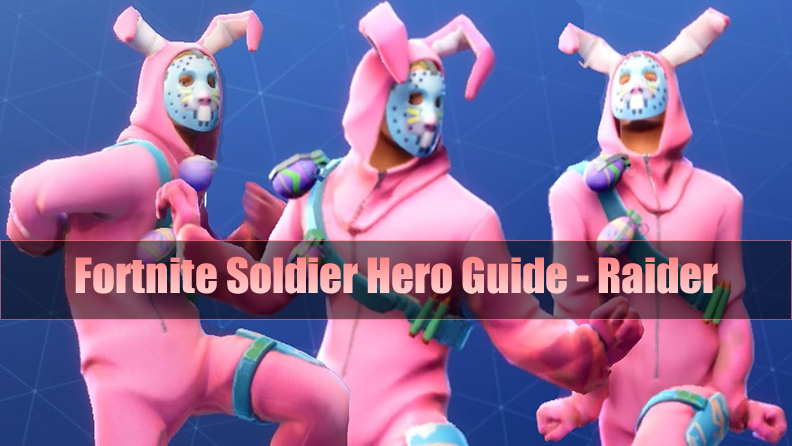 The Most Complete Fortnite Soldier Hero Guide - Raider